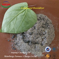 Good Complex Deoxidizer Ca Al Fe Mg Si Alloy Powder Used In Steelmaking