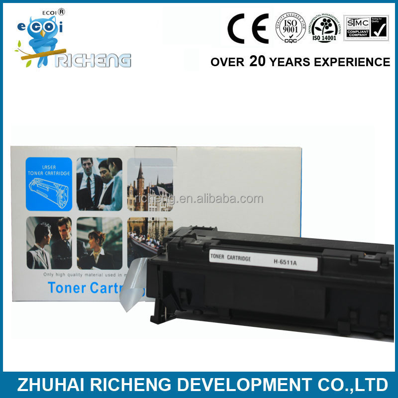 q6511a cartridge, toner cartridge 6511a, alibaba china supplier for toner