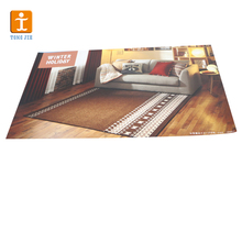 Self-adhesive removable 3d home floor stickers