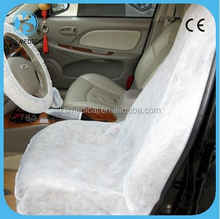 Disposable non woven car seat cover and wheel cover