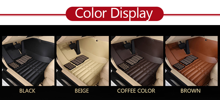 best selling custom soft leather wholesale cleaning car mats
