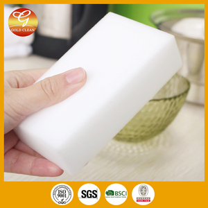 2016 Wholesale white hot compressed sponge high density magic eraser Nano sponge/foam for household cleaning