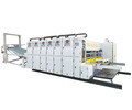 Automatic Rotary Printer Die Cutter With Slotting Attachment For Corrugated Boxes