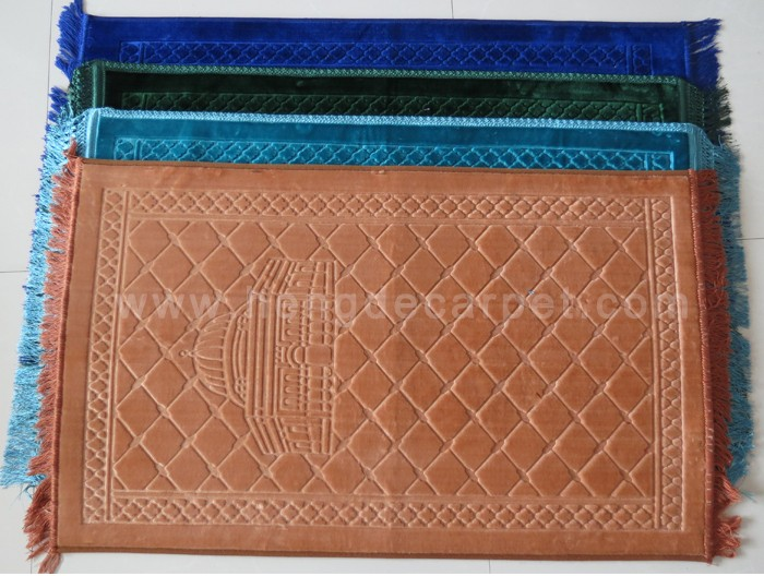 foam backed mosque pocket prayer mat rugs prices for sale