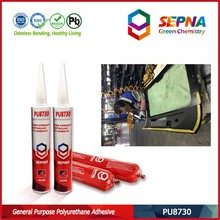 PU sealant for windshield crack repair