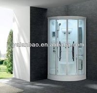 "35"" x 35"" Shower Steam Room Jetted Shower with seat and foot massage"