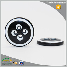 Four holes special flower shape plastic stud button for farment