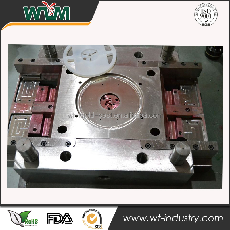 Guangdong injection molding service for IC package shelf plastic mold