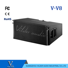 V-V8 New Arrival Audio Sound System Double 10'' Woofer Line Array Speaker Top System Outdoor Indoor