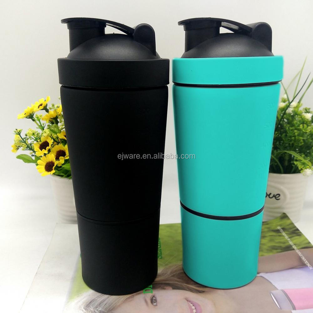 Infuser Water Bottle Bpa Free Metal Ball Bottle Protein Powder Cup