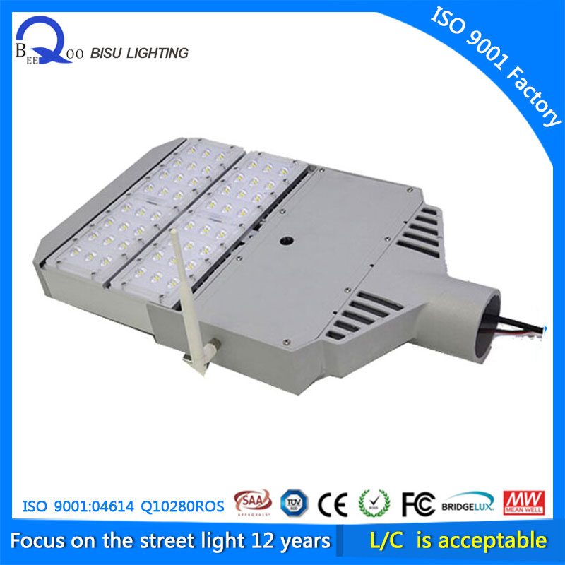 Intelligent system new arrival Wifi smart road lamp IP65 60W 120W led street light photocell COB all in one