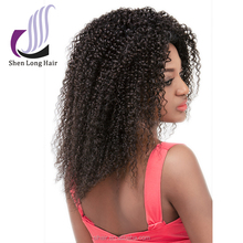 7A Human Hair Lace Front Wig Brazilian Kinky Curly Human Hair Wigs For Black Women