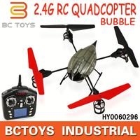 WL toys 2.4GHz 4CH beetle V969 rc quadcopter with bubble function flight simulator dji phantom with light HY0060296