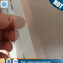Ultra fine 20 40 60 mesh pure 99.99 silver expanded metal mesh clothing