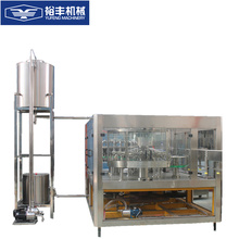 Automatic tiny negative pressure bottled water filling machine with 2.2m air conveyor