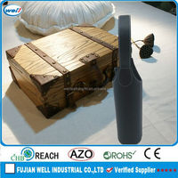 Eco-friendly PU leather wine bottle carrier manufacturer