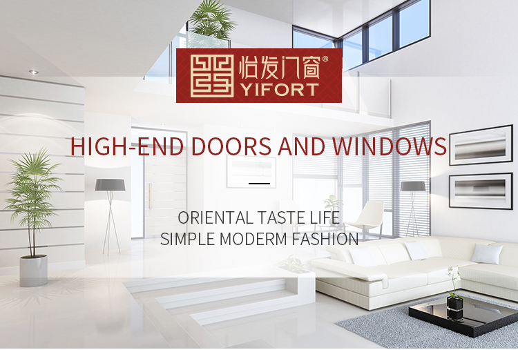 2017 hot aluminium door glass single leaf double swing door