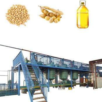 2018 Recently New Product Corn Rice bran Flaxseeds Soybean Oil Refining For Sale