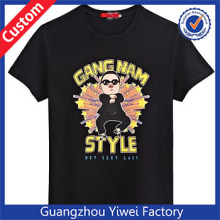 Popular GANG NAN STYLE TShirt Wholesale Printing Black T Shirt
