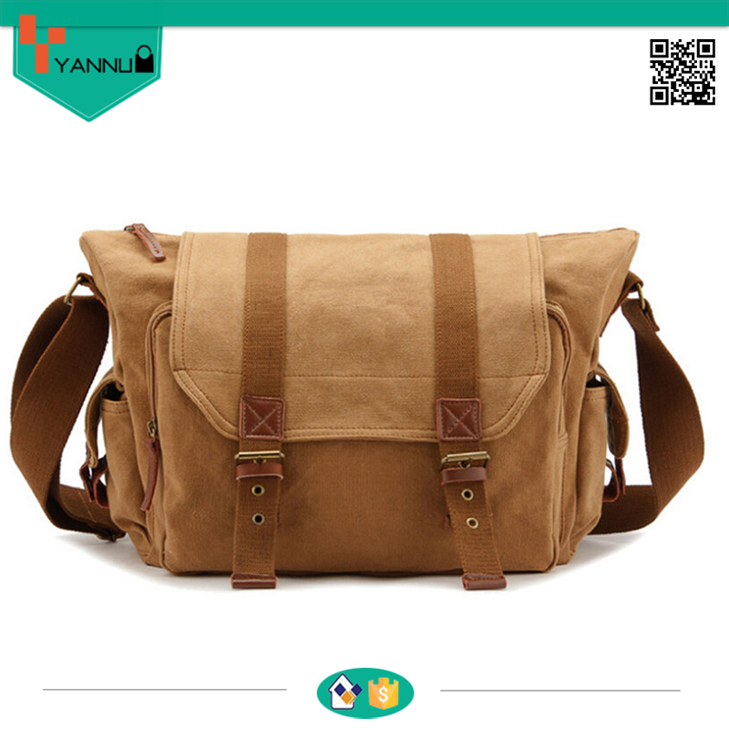 New High quality cotton hot style man shoulder bag camera bag