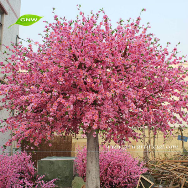 BLS014-8 GNW pink flower making artificial Cherry blossom tree 10ft for wedding flower stand decoration