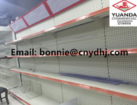 supermarket stacking shelves , supermarket rack systems , store supermarket supplies with light box