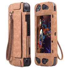 Wholesale Protective Bag For Nintendo Switch <strong>Case</strong> PU Leather <strong>Flip</strong> <strong>Case</strong> Stand Protective Cover
