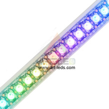 Sk6812 clone of ws2812b 5050rgb led pixel 5050 smd rgb chip strip 144 1m black