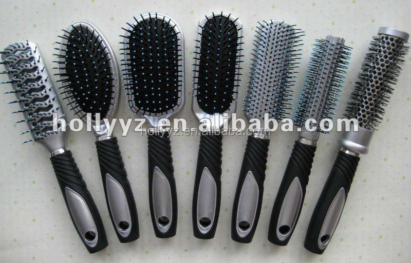 Hot sale new design hair brush with double round hair brushes