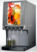 Syrup juice vending machine with compressor can make 4 cold beverage (LJ503)