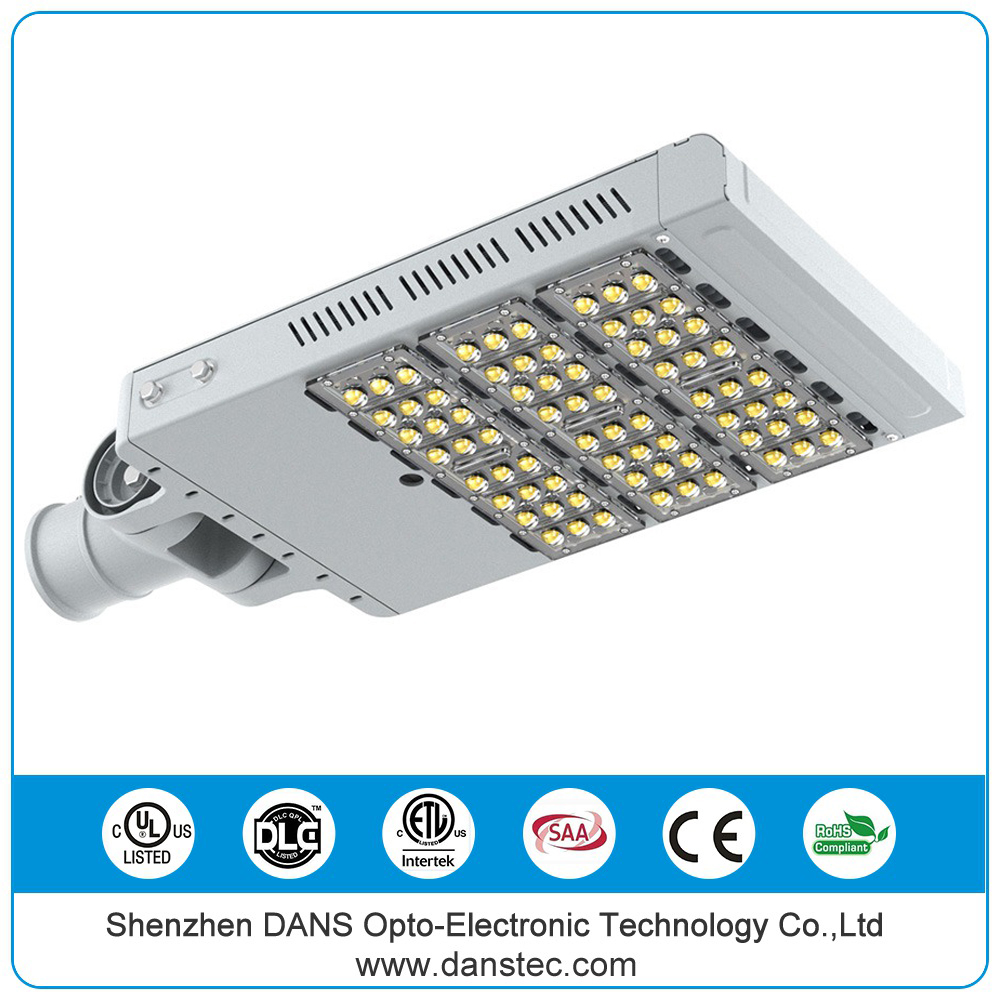 DANSTEC UL (E481495) DLC IP67 waterproof CE RoHS UL approved shenzhen LED street light 150w 250w with Mean well driver