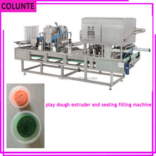 automatic mud cupping and sealing machine