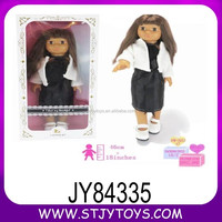 new item 18inch fashion doll for girl toy wholesale