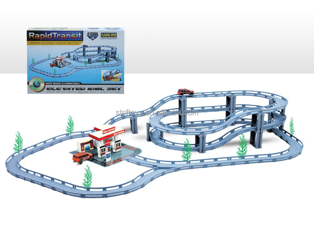 2015 Scalextric Large Toy Train Kids Roller Coaster Toy