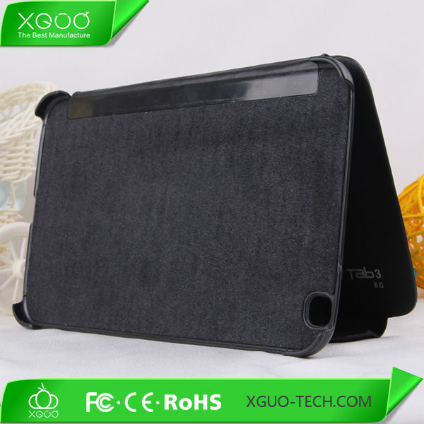 hard back skin smart cover for samsung galaxy tab2