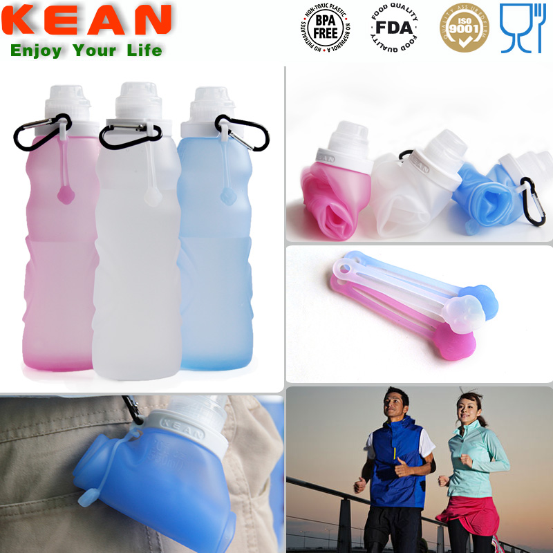 2015 New arrive portable mini good quality silicone shaker bottle bpa free