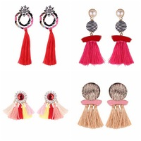 Wholesale Fashion Tassel Earrings Women