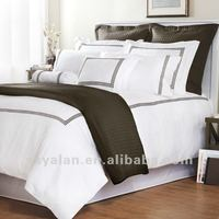 Embroidered Hotel Life Sheet Sets Bedding