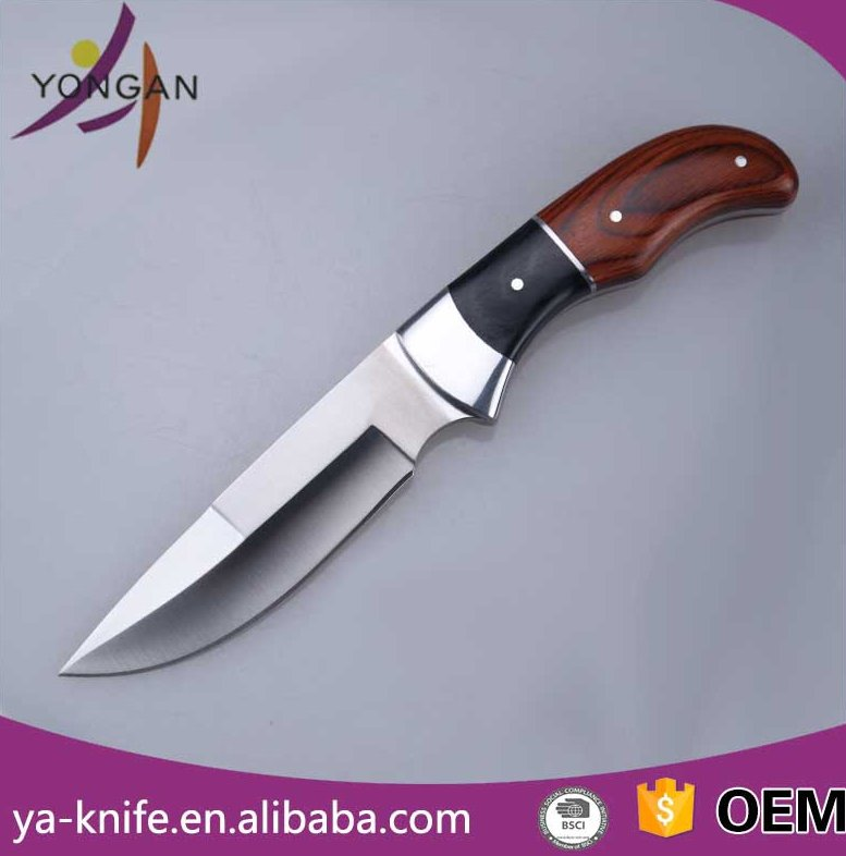 YA-H07 pakistan stainless steel hunting knife blade blanks hunting knife importers