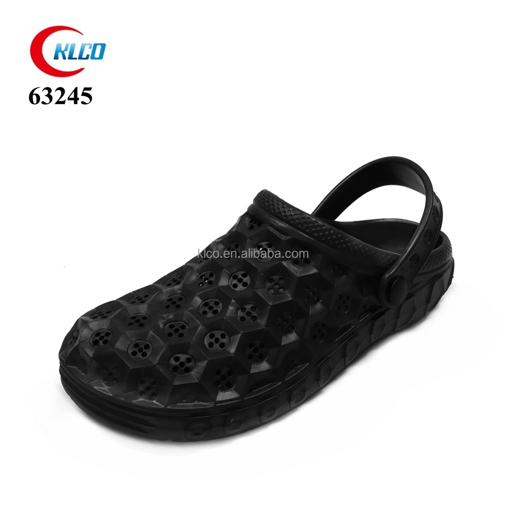 wholesale cheap mens holey eva garden sandal clog shoes