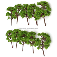 Popular New Fashion 10x 12cm Simulation Miniature Landscape Model Trees For Agriculture Railroad House Park Street Layout