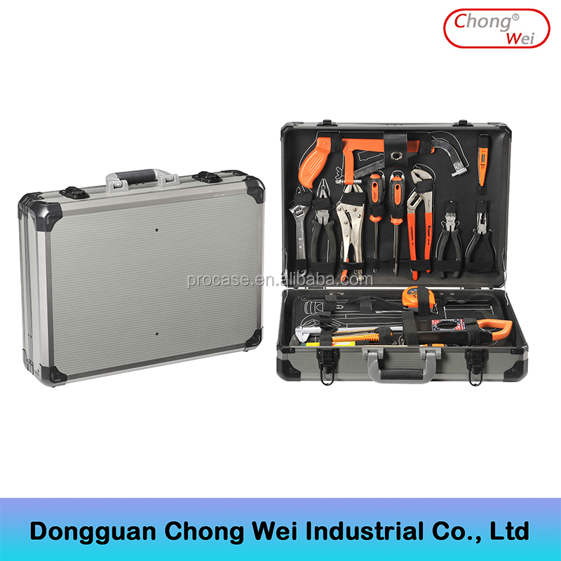 Aluminum framed abs tool case ,hard barber tool case