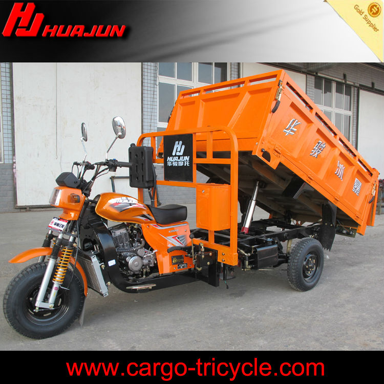 China Hydraulic Heavy Duty Cargo Tricycle 250cc