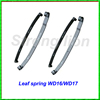 New arrival auto truck suspension parts WD16 WD17 spring leaf