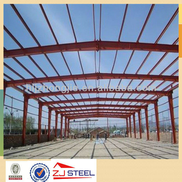 light weight steel frame car park steel frame building