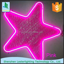 LED neon Factory Wholesale Bright Outdoor Decorative Solar LED Christmas Star String Lights