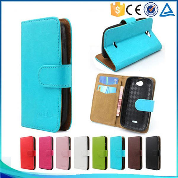 Crystal Pattern Leather Credit Card Holder Flip Case Cover For BLU Dash <strong>L2</strong> D250L
