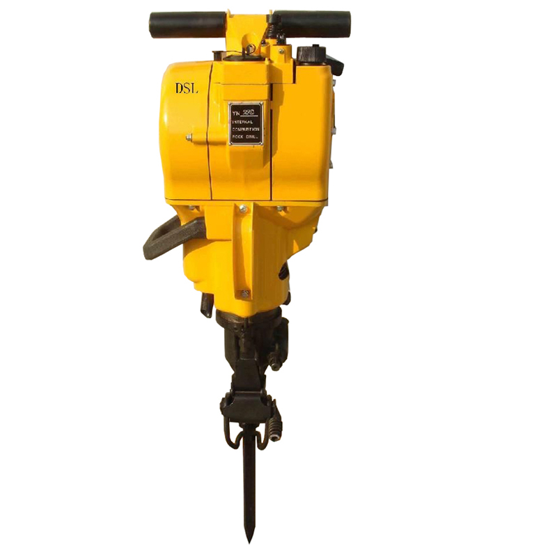 Hand rock drilling machine used for mining stone