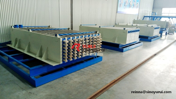 YURUI lightweight concrete eps wall panel forming machine