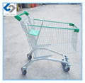 Caddie style supermarket shopping carts